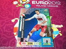 Adrenalyn XL Euro 2012 limited edition Robert Lewandowski