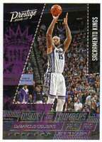 2016-17 Panini Prestige Basketball Inside the Numbers #4 DeMarcus Cousins Kings