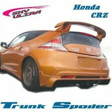 Unpainted M Type ABS Trunk Spoiler Wing For Honda CR-Z 2011~ 2015 Hatchback CRZ❦