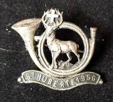 Ancienne médaille st Hubert 1956. 2,5cm x 2,5cm