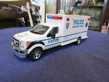 1:43 O Scale NYPD New York NYC Police ESU Emergency Service Unit WORKING LIGHTS!