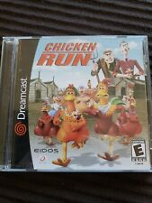 Chicken Run (Sega Dreamcast, 2000) complete cleaned and tested