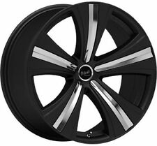 22 INCH SAVOY MANIA BLACK NEW WHEELS ONLY !! BMW X5 MSPEC RANGE ROVER VOGUE