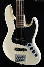 Fender Deluxe Active Jazz Bass V Olympic White Rosewood (680)