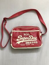 Red Superdry Bag, Leather