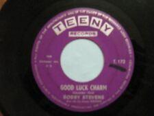 BOBBY STEVENS 45 TOURS GOOD LUCK CHARM