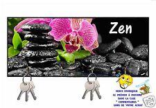 accroche clés mural en bois zen réf 256 personnalisable prénom