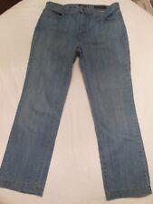 NYDJ Not Your Daughter's Jeans Premium stretch Denim Size 12  W 34 I 28 R 11 C 8