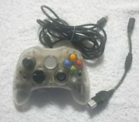 Original Xbox Crystal Clear Controller Pad S - Genuine Official Working