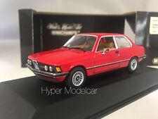 MINICHAMPS 1/43 BMW 323I SALOON 1975/83 RED ART. 430025471
