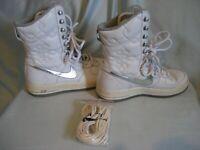 Feather Nike Air Womens High 5 Hi Size 7 Women 395751 003