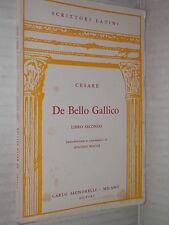 DE BELLO GALLICO Libro Secondo Cesare Antonio Maggi Signorelli 1964 latino libro