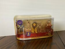 Disney The Lion King 5 Piece Collectible Figure Toy Set 2019 Movie NEW