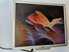 """Acer AL1716 17"""" LCD Silver Monitor with power cord and wall mount"""