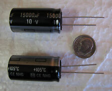15000uF 10V Panasonic NHG Type A series Electrolytic Capacitors 4 pcs