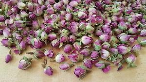 Bio-Rosa Damascena 250 g Rosenblüten Rosenknospen Duftrose Damaszener Rose