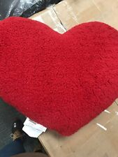 Room Essential Toss Pillow Heart Red
