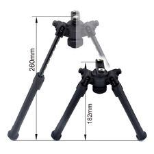 6.3-10.3'' Adjustable M-lok Adapter Bipod 50° Tiltable Aluminum Polymer_Black