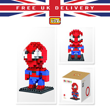 Mini SPIDERMAN Building Blocks Super Hero LOZ Diamond Brick Learning Toy XMAS UK