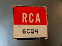 6CQ4 RCA VINTAGE VACUUM TUBE, (NEW IN BOX / NEW OLD STOCK)