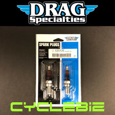 Drag Specialties - Spark Plugs, 99-17 TC, 86-17 XL - 2103-0196 - (2 Pack)