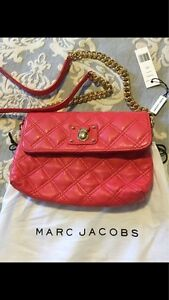 A Brand New Marc Jacobs Quilted Crossbody Bag