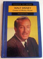 WALT DISNEY Creator of Mickey Mouse ~ 1996 HB Book