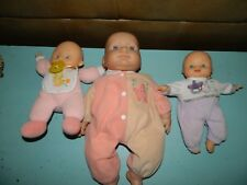 Vintage Cititoy Berenger Baby Dolls Lot of 3
