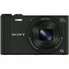 SONY Cyber-Shot DSC-WX350-B Black Digital Camera 20x Optical Zoom DSCWX350B