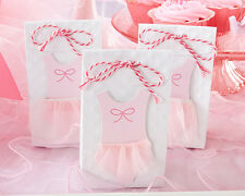 24 Tutu Cute Ballerina Baby Shower Birthday Party Favor Bags