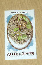 2017 Topps Allen Ginter mini parallel Trees in India no number