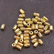 Tibetan Silver/Gold/Bronze tube Charm Spacer Beads for Bracelet E3139