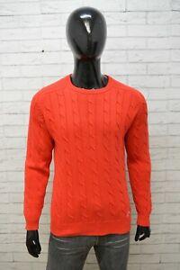 Kappa Uomo Maglione Taglia S Maglia Pullover Felpa Cotone Girocollo Sweater Man