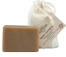 Neem Oatmeal, all natural soap, handmade, Cold process, Large 5.5-6 oz