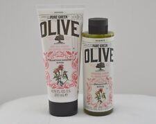 Korres Pure Greek Olive Verbena Showergel 200 ml + Body Milk Verbena 250 ml