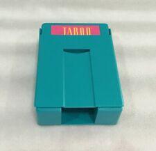 TABOO GAME REPLACEMENT DECK HOLDER - 1989 - BLUE PLASTIC