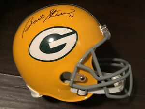 Bart Starr Signed Autographed FULL SIZE  Helmet Green Bay Packers Steiner