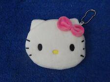 Hello Kitty Soft Fuzzy Coin Purse White/PINK