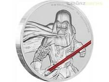 5 $ Dollar Star Wars Krieg der Sterne Darth Vader Niue Island 2 oz Silber 2017