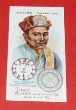 CIGARETTES SMITH'S CARD NATIONS OF WORLD 1923 N°41 TIBET CENTS LASSA