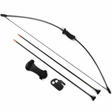 For 5-14 Years Kids Bow&Arrow SetArchery Practise W Protectors And Safe Arrow