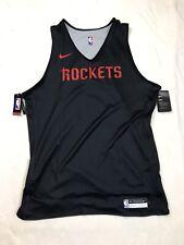 NWT XL Tall Mens Nike NBA Houston Rockets Reversible Practice Jersey Basketball