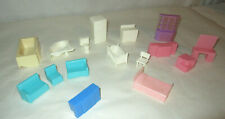 Marx and Other Doll House Furniture group of 16