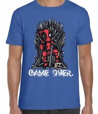 Game Over Deadpool Inspired Game Of Thrones Unisex T Shirt