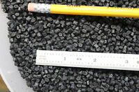 BLACK POLYSTYRENE (STYRENE) HIPS PLASTIC PELLETS 2 lbs COST INCLUDES SHIPPING!!!