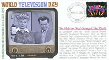 """COVERSCAPE computer designed World Television Day """"I Love Lucy"""", event cover"""