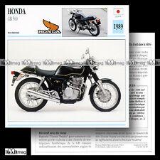 Anstecker Pin HONDA CX 500 blau