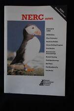 NERC NEWS - BIOMOLECULAR PALAEONTOLOGY - January 1992