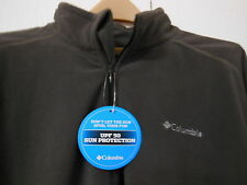 COLUMBIA Klamath Range PULLOVER Size XL Mens L/S w/ SPF 50 Sun Protection NEW