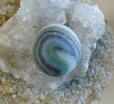 Genuine Sea Glass Surf Tumbled Marble Beach Find Pendant Crafts Collectible #57